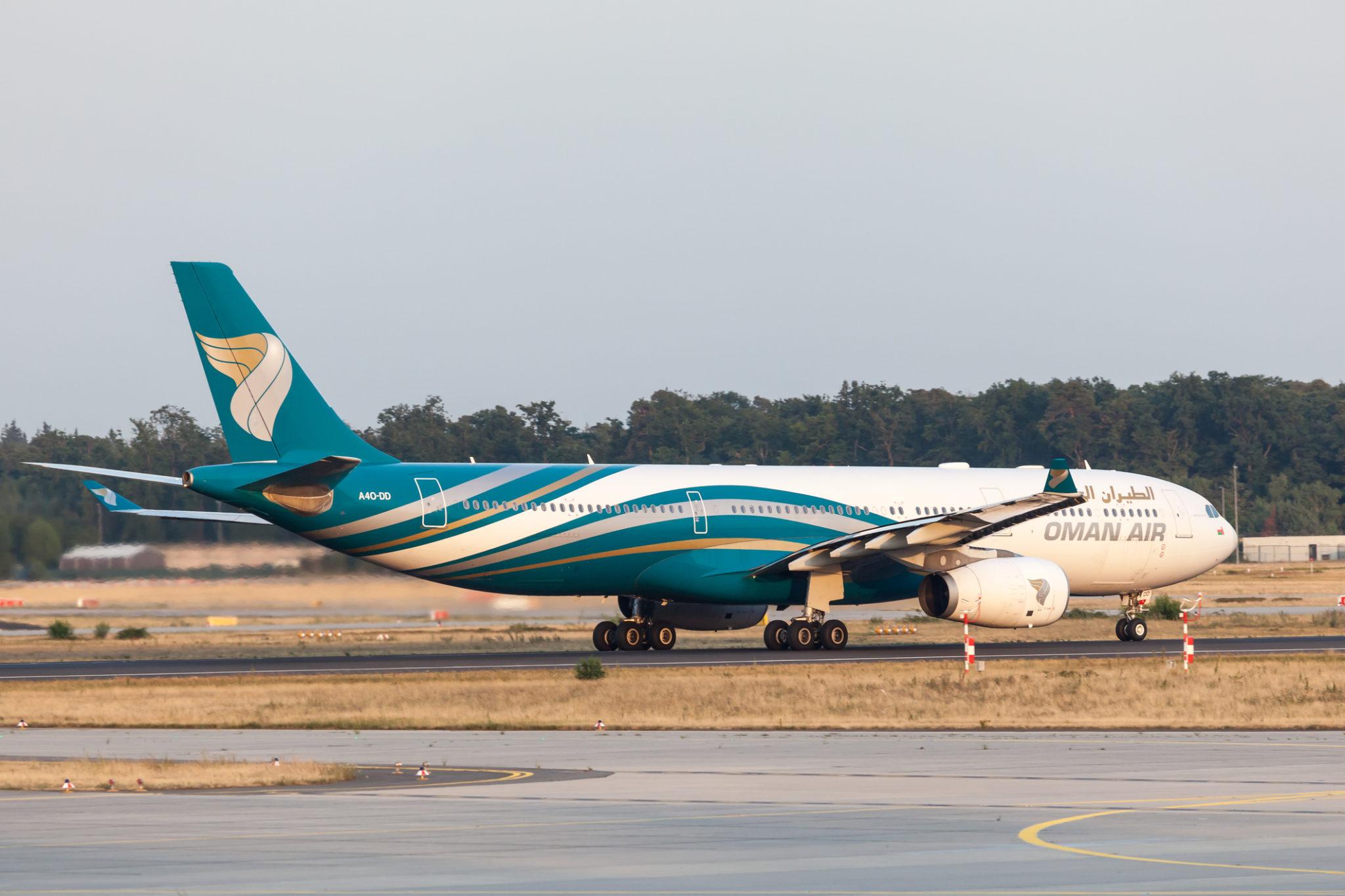 Letadlo Oman Air