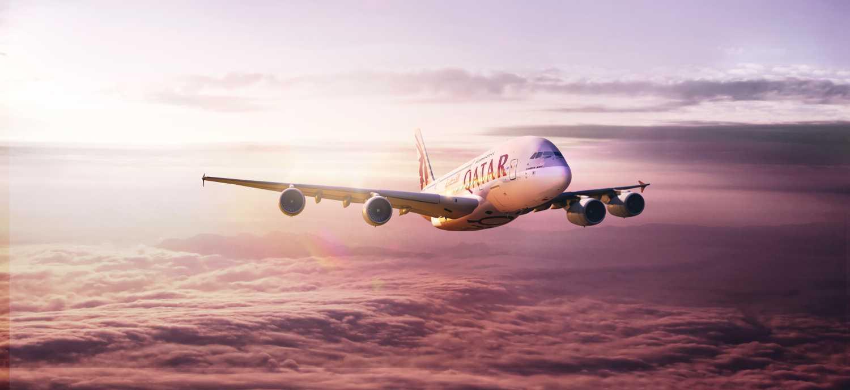 Letoun Qatar Airways