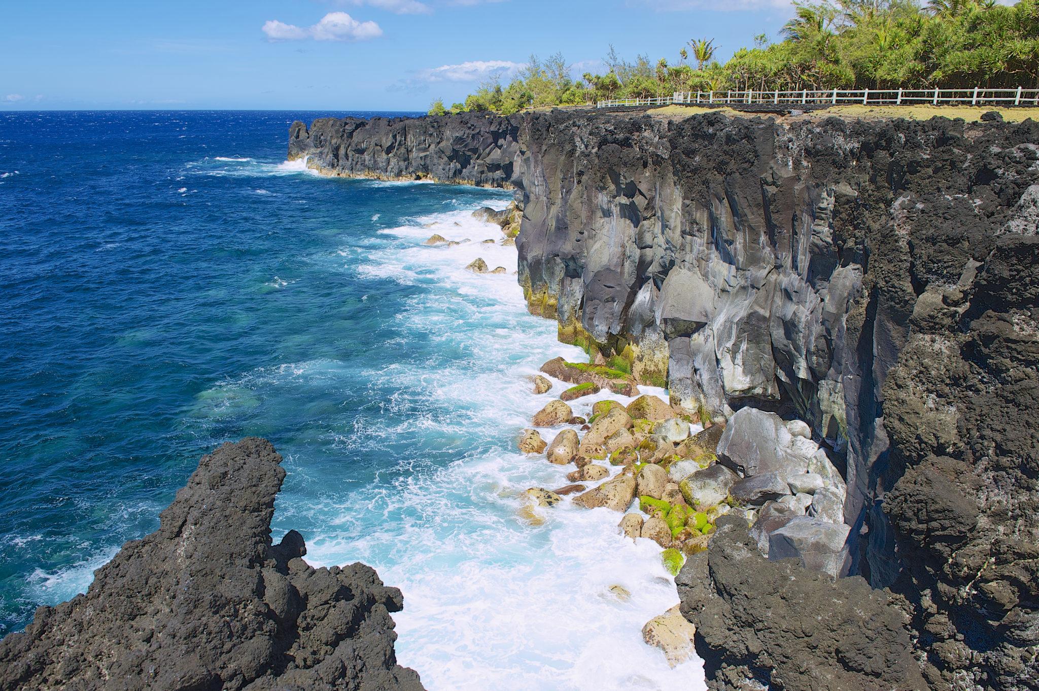 Pobřeží ostrova