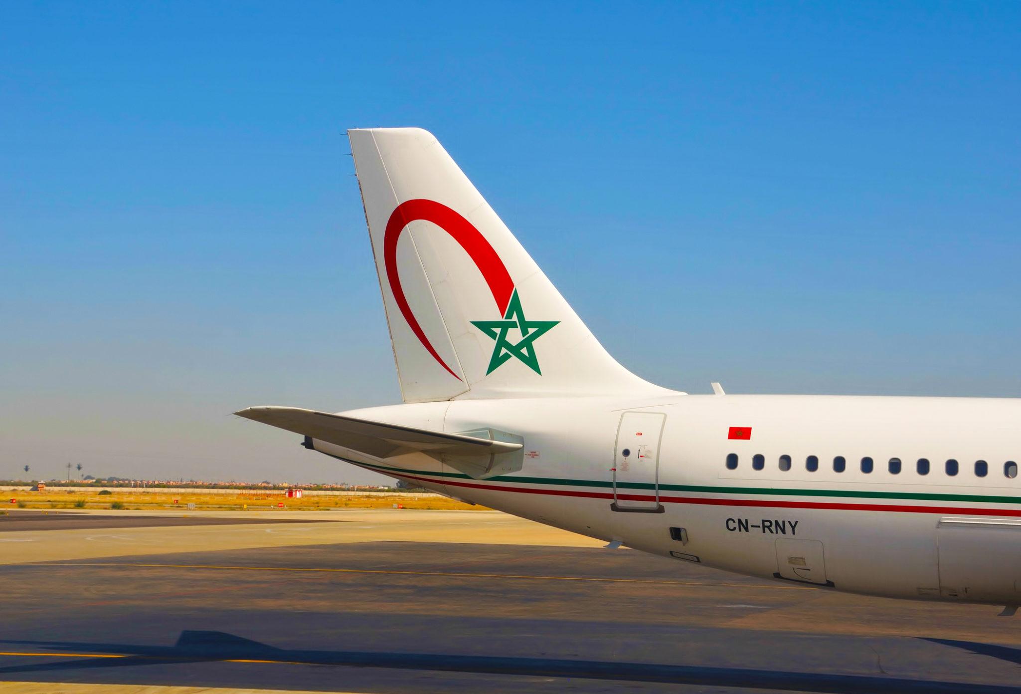 Letadlo Royal Air Maroc