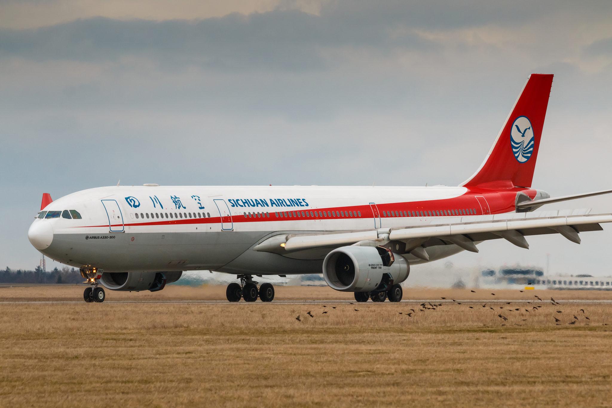 Letadlo Sichuan Airlines