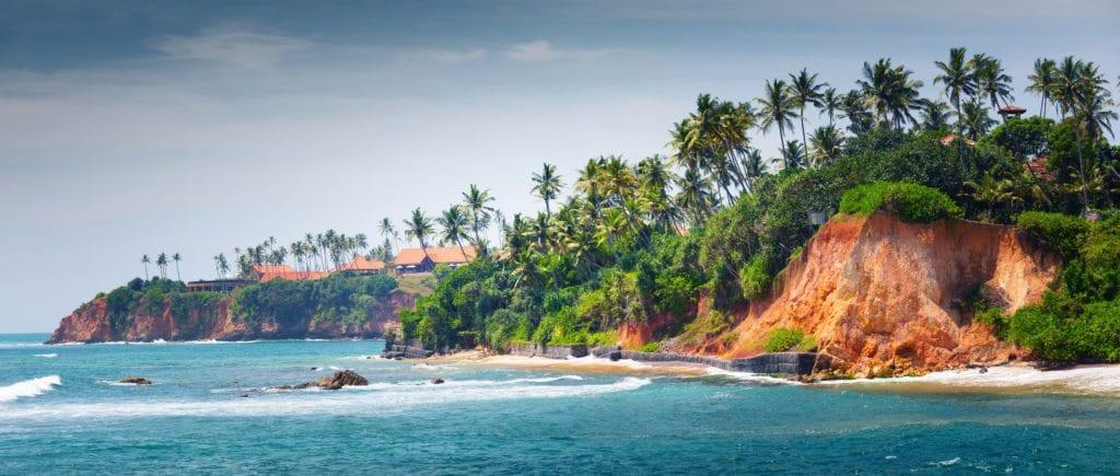 Pobřeží Srí Lanky