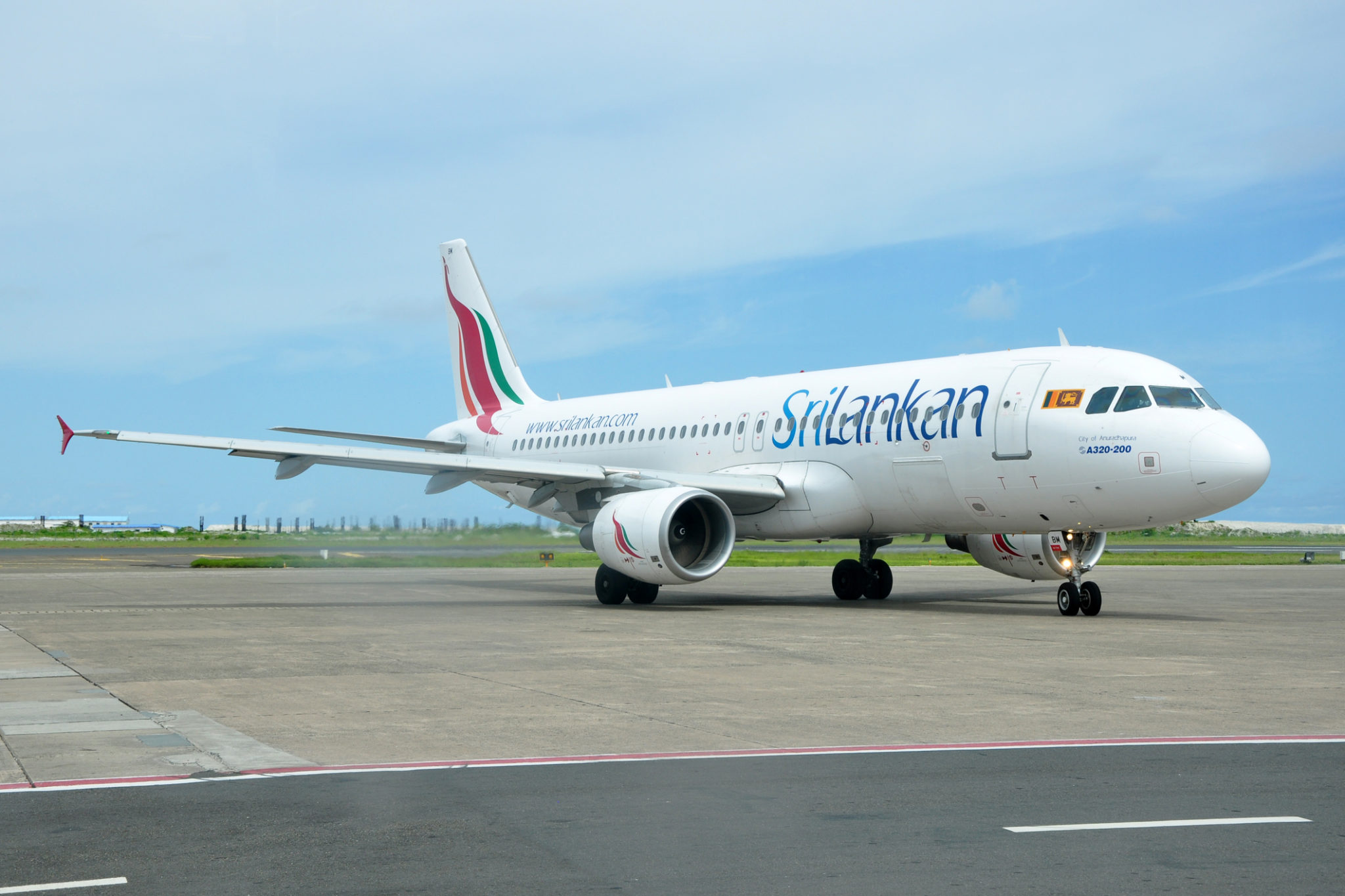 Letadlo Srilankan Airlines
