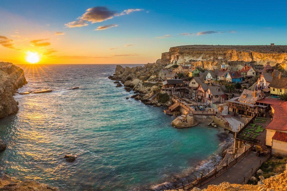 Pobřeží Malty.