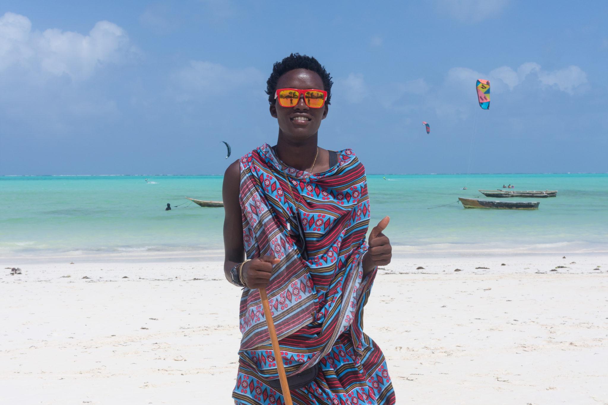 Masaj na pláži
