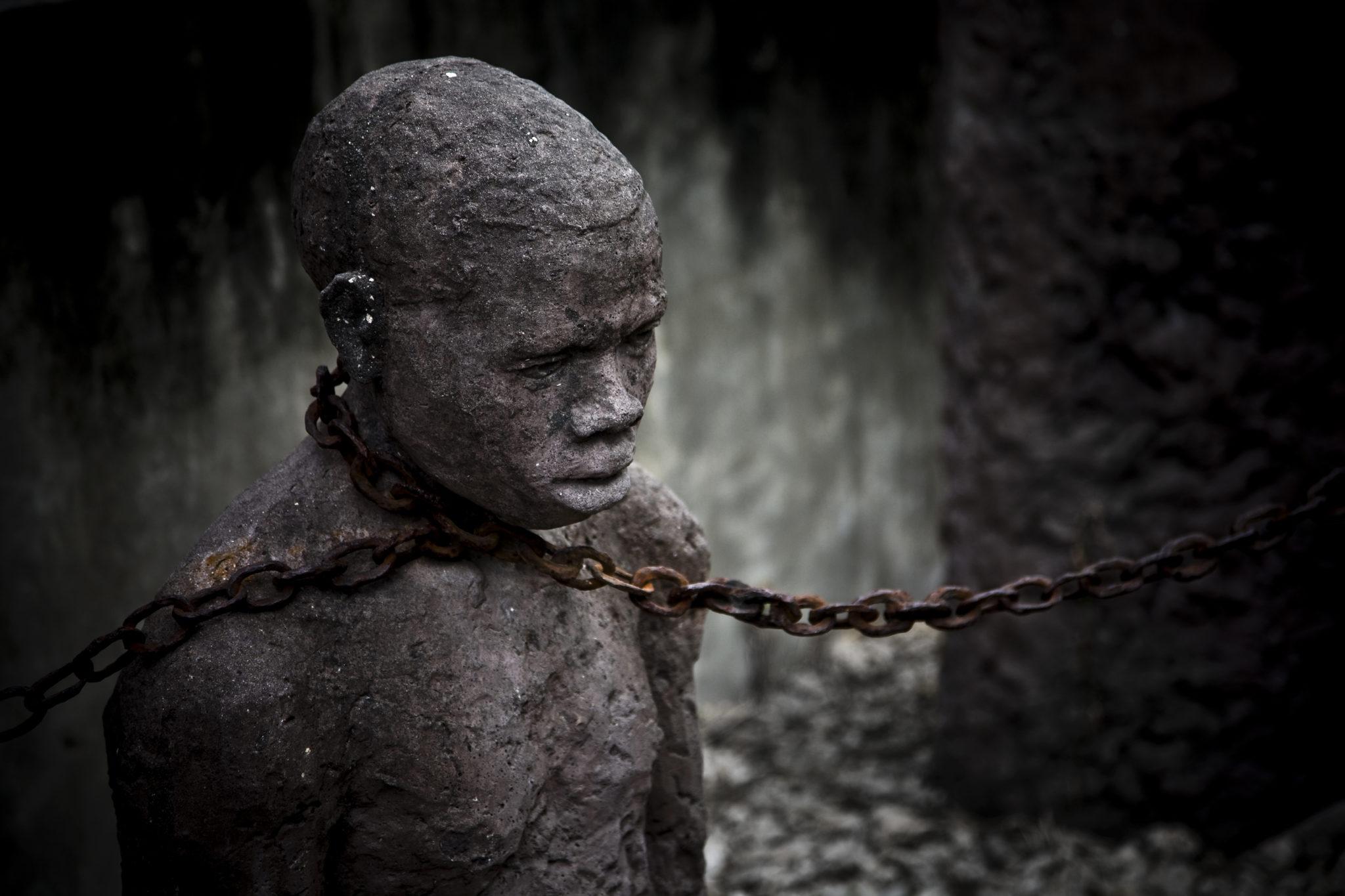 Socha otroka na Slave Marketu