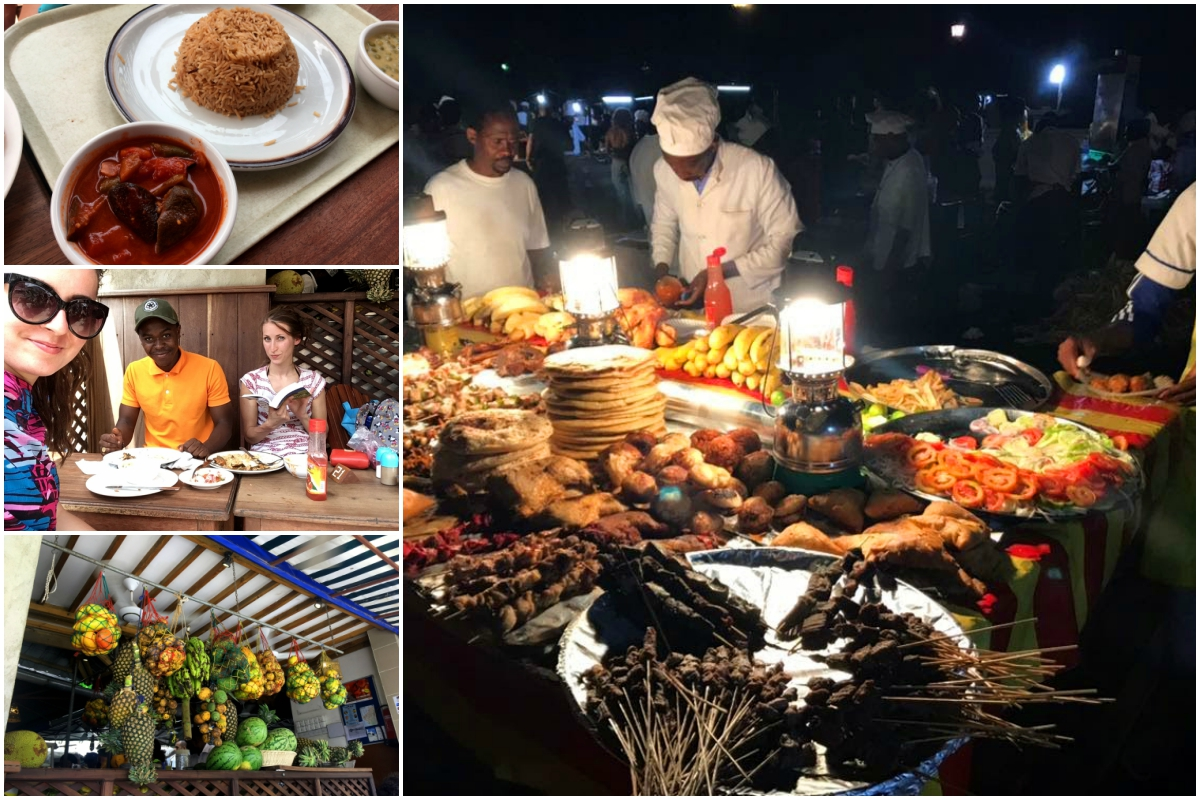 Street food na Zanzibaru