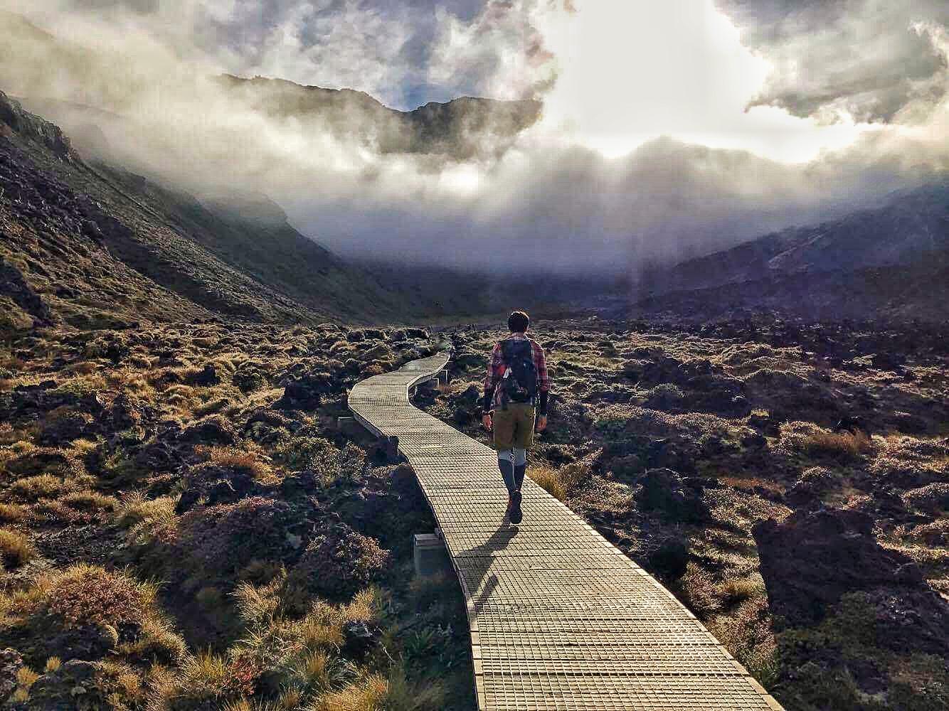 Trek na Tongario Crossing