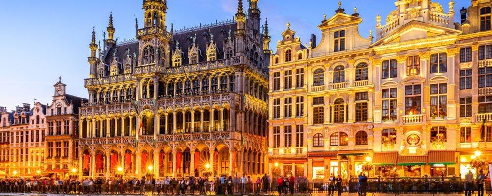 Náměstí v Bruselu