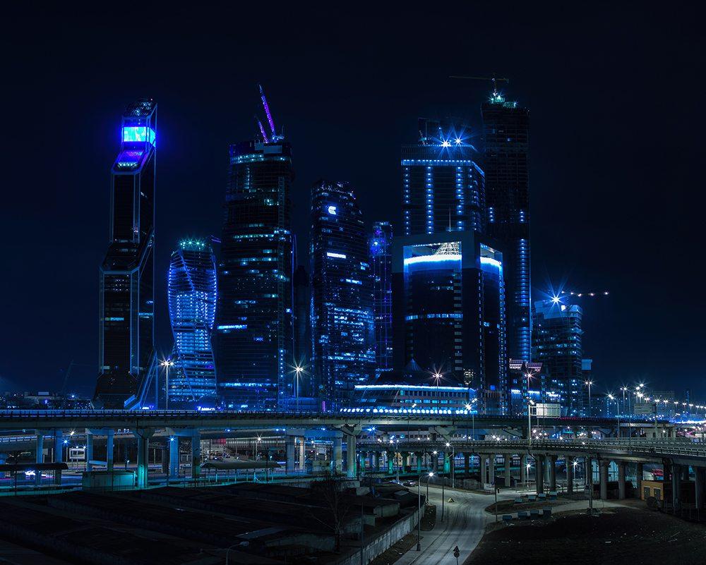 Byznys centrum v Moskvě