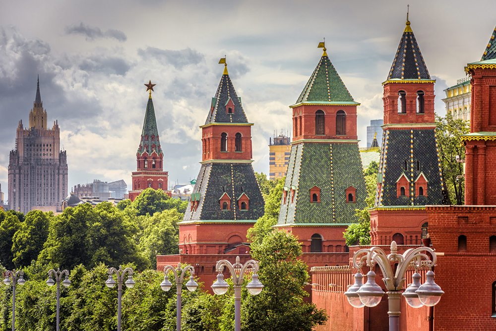 Moskevská architektura, Kreml