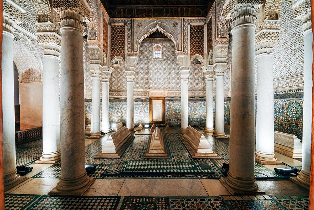 Mausoleum královského rodu Saadian.