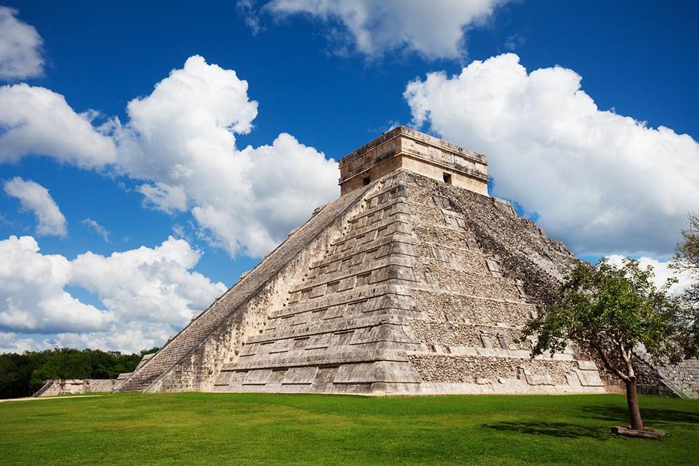 Pozůstatek mayské civilizace - Chichen Itza.
