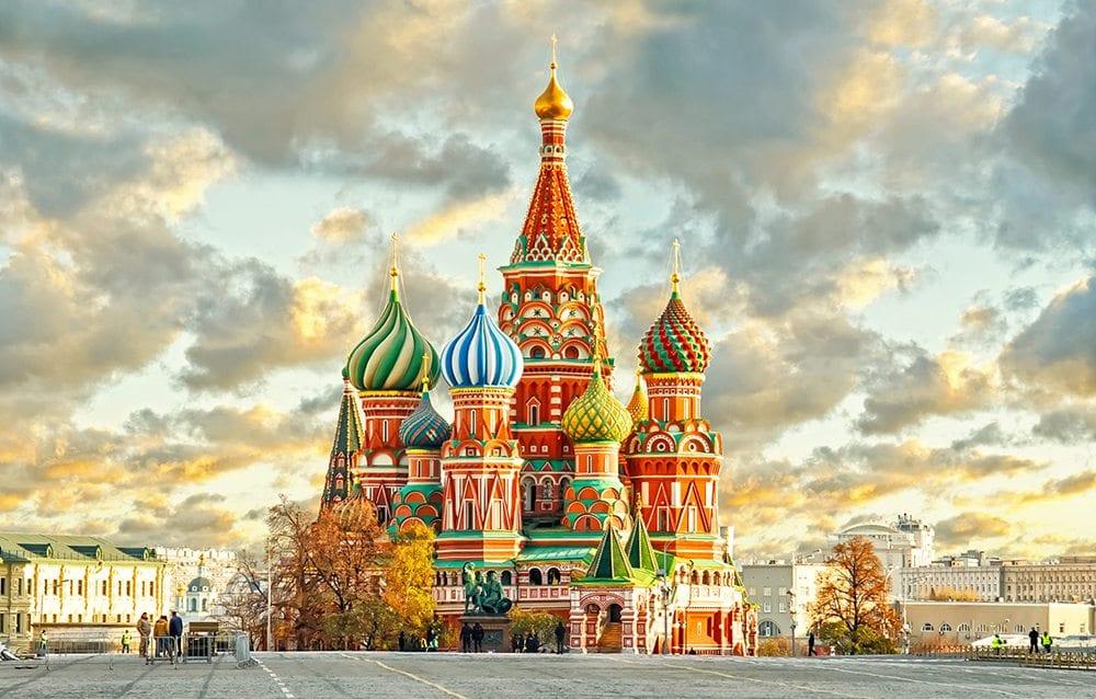Chrám Vasila Blaženého v Moskvě