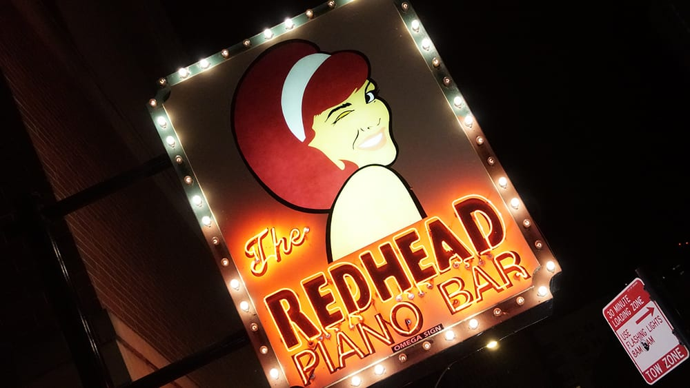 Redhead Piano Bar.