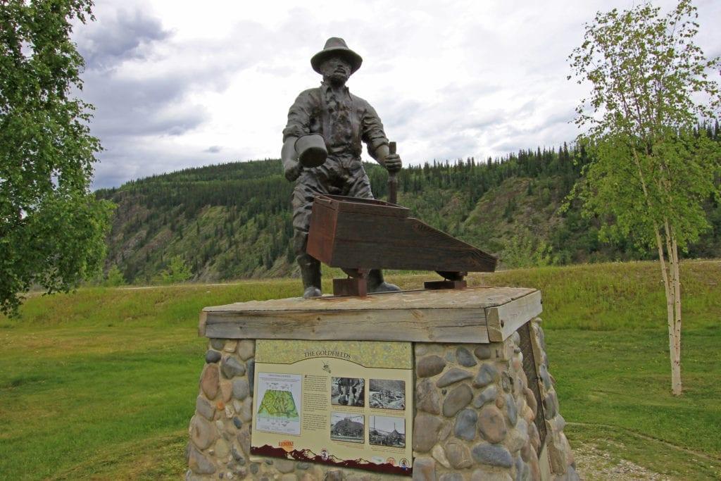 Dawson City připomíná éru zlaté horečky - Yukon