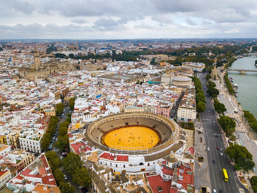 Býčí eréna v Seville.