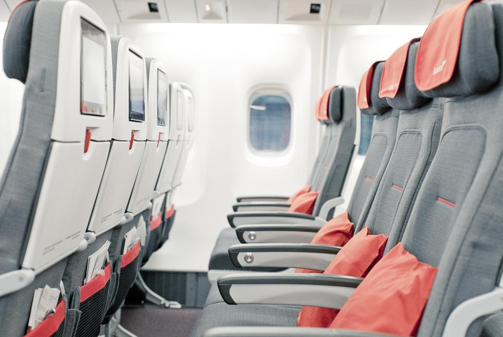 Ekonomická třída Austrian Airlines