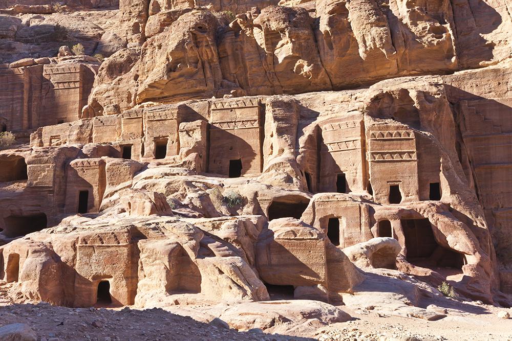 Skalní město Petra.