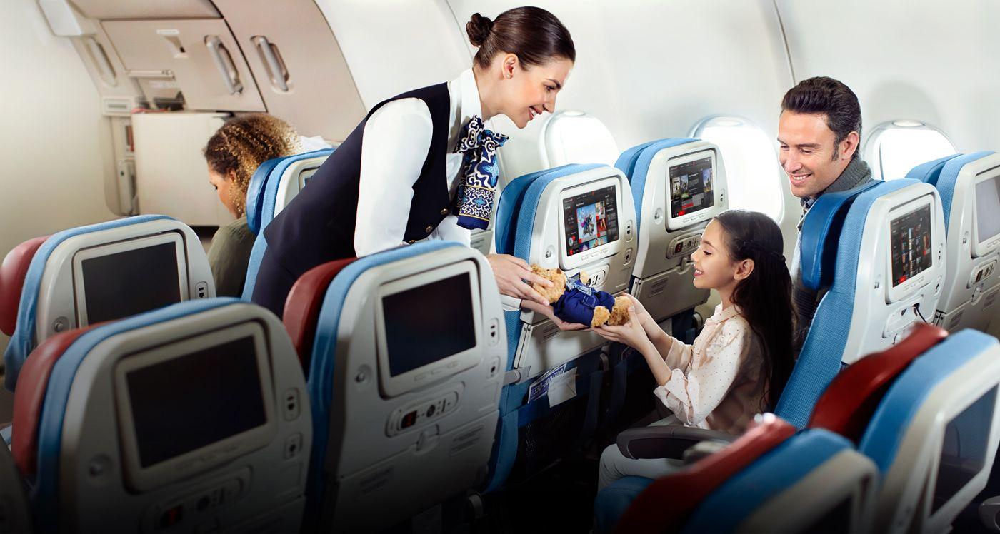Ekonomická třída Turkish Airlines