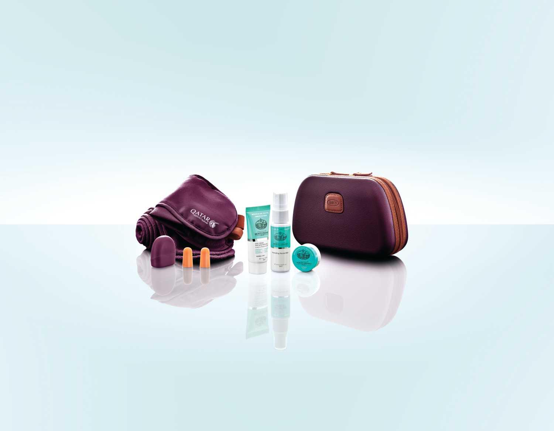 Komfortní balíček v business třídě Qatar Airways