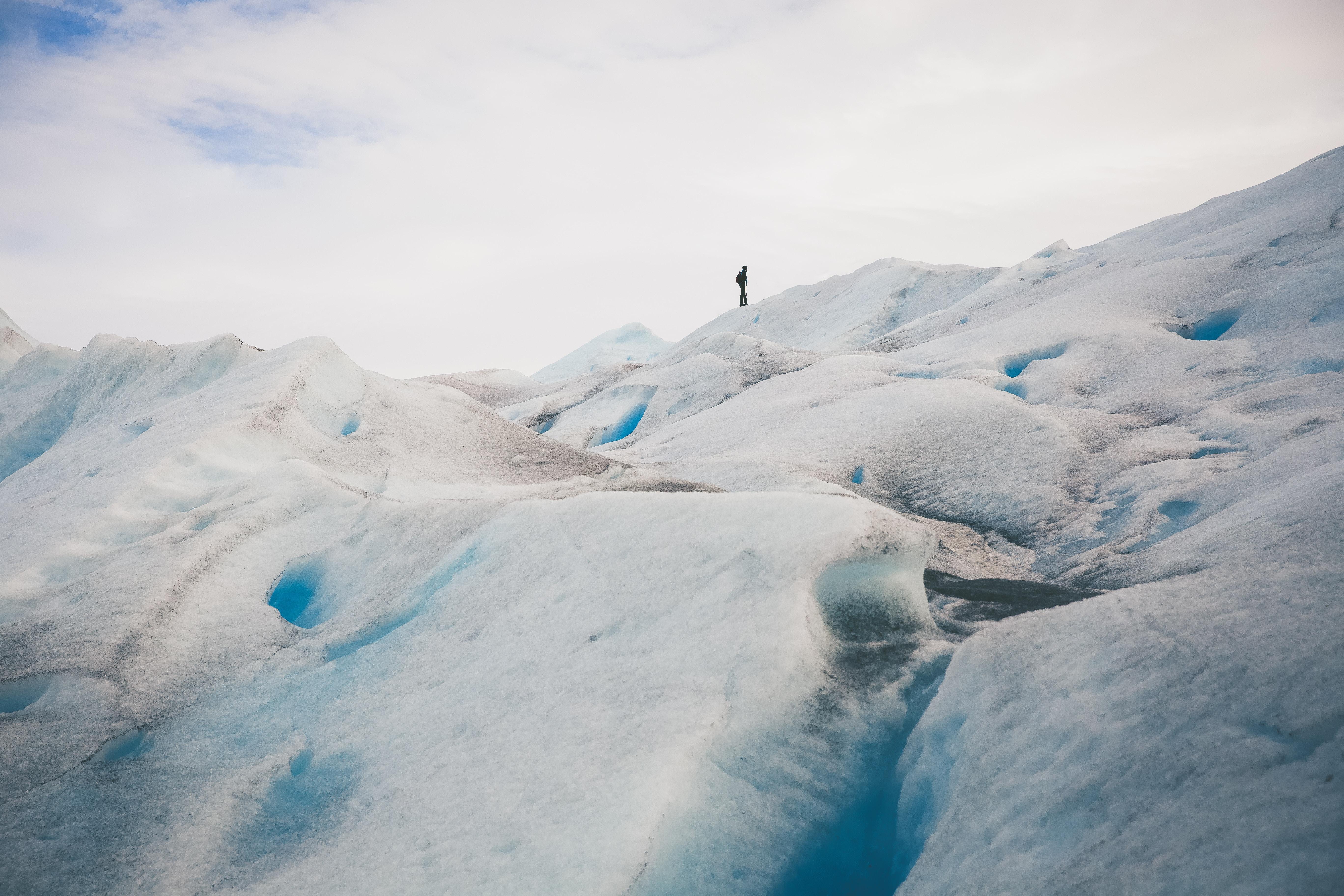 Trek po ledovci Perito Moreno