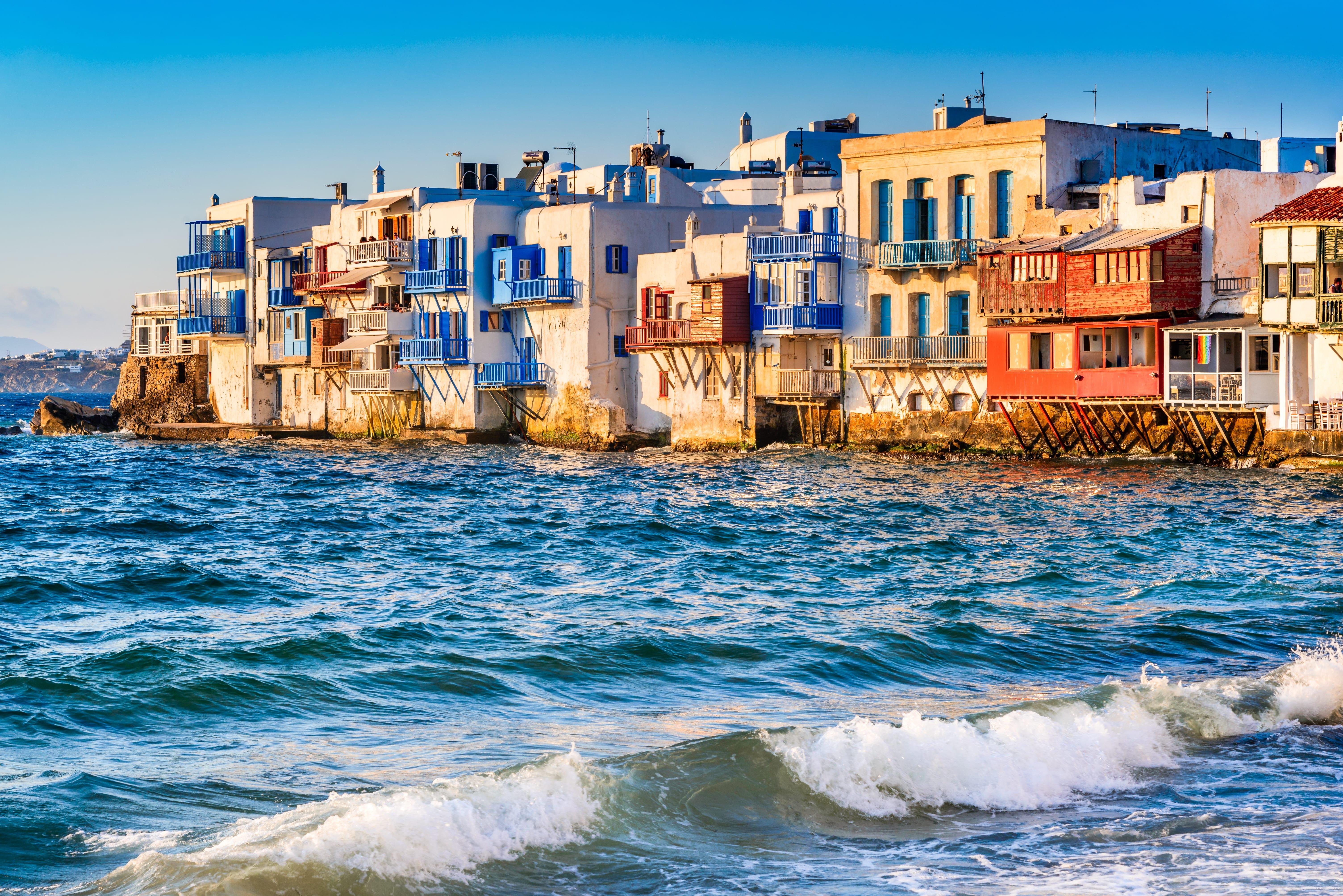 Little Venice na Mykonosu