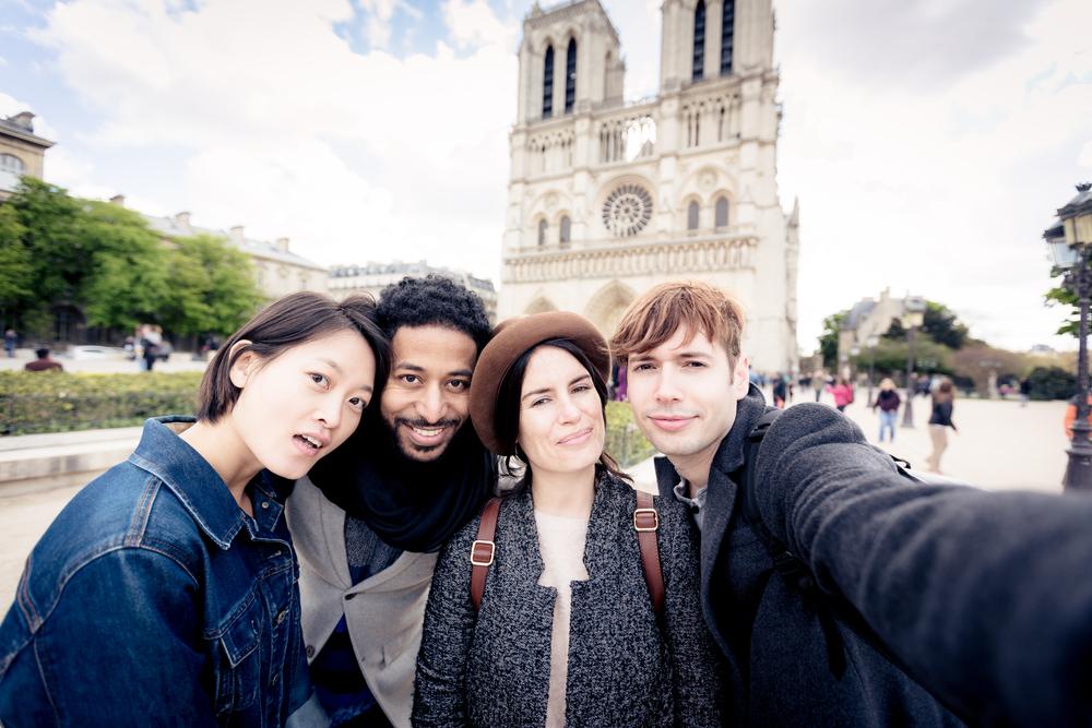 Přátelé v Paříži