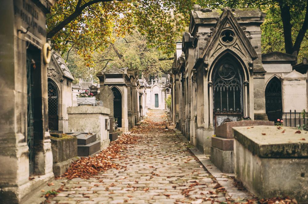 Hřbitov v Paříži
