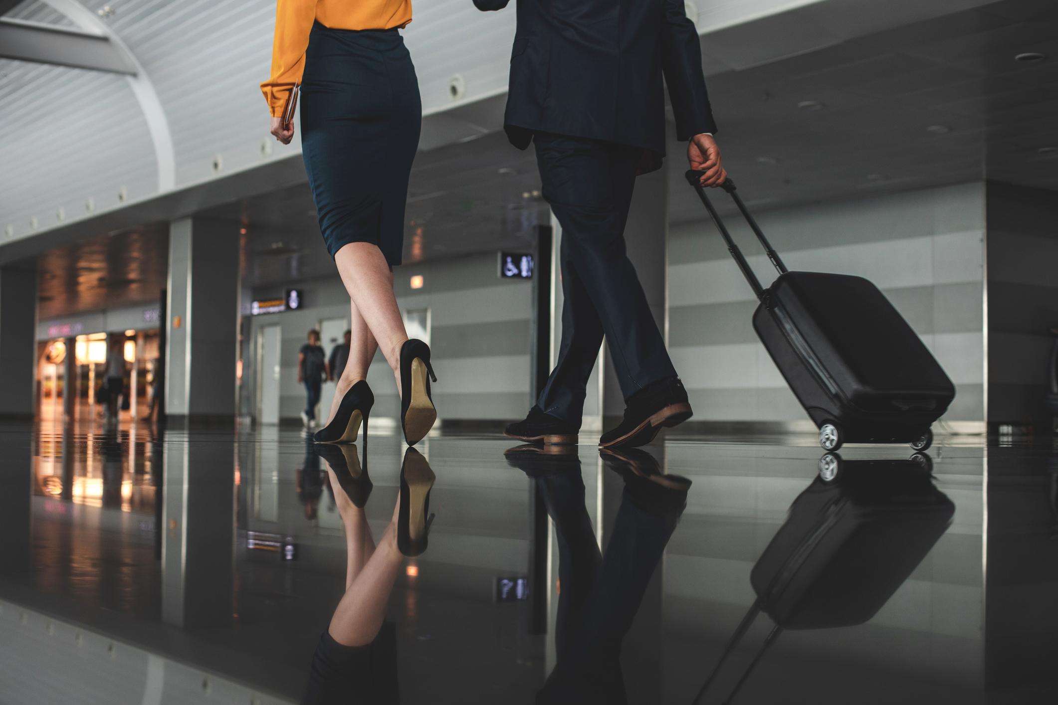 Příruční zavazadlo na letišti