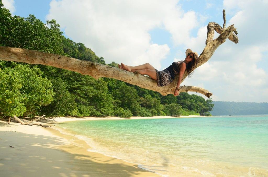 Liduprázdné Andamanské ostrovy