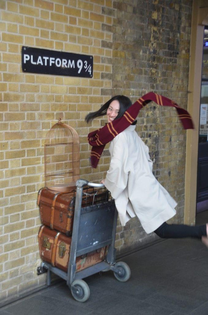 Nástupiště Harryho Pottera