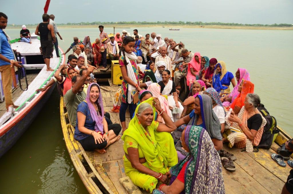 Barevný život u řeky Gangy