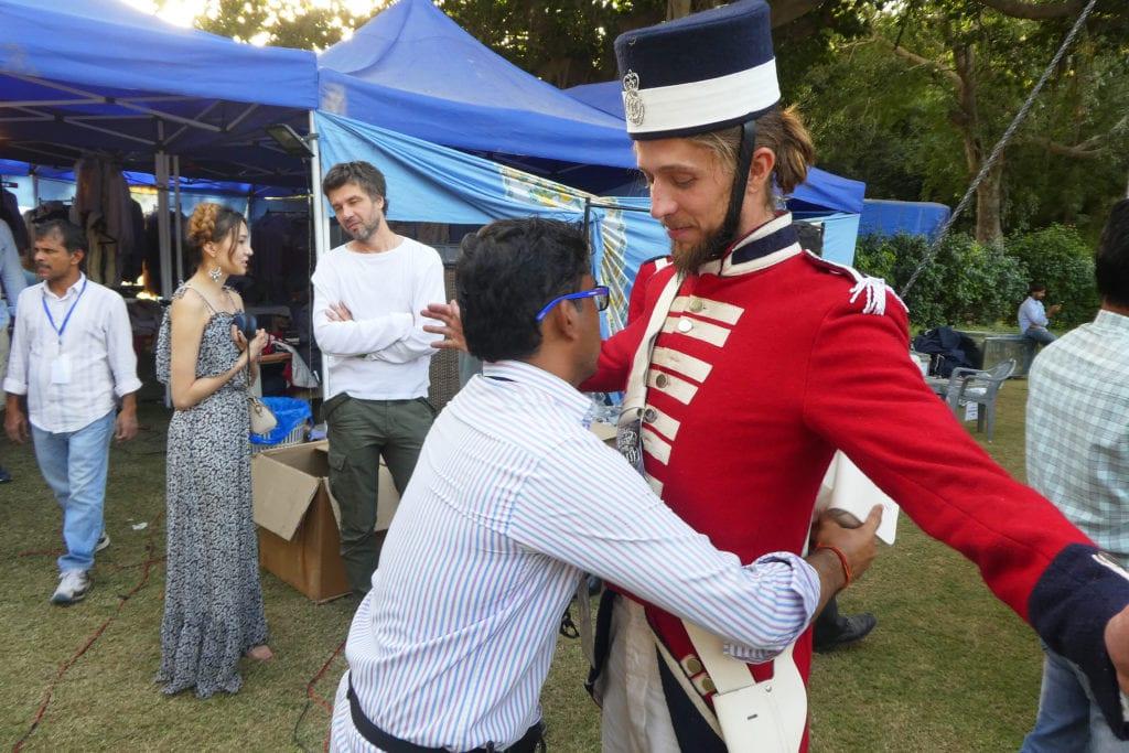 Moje role britského vojáka v bollywoodském filmu