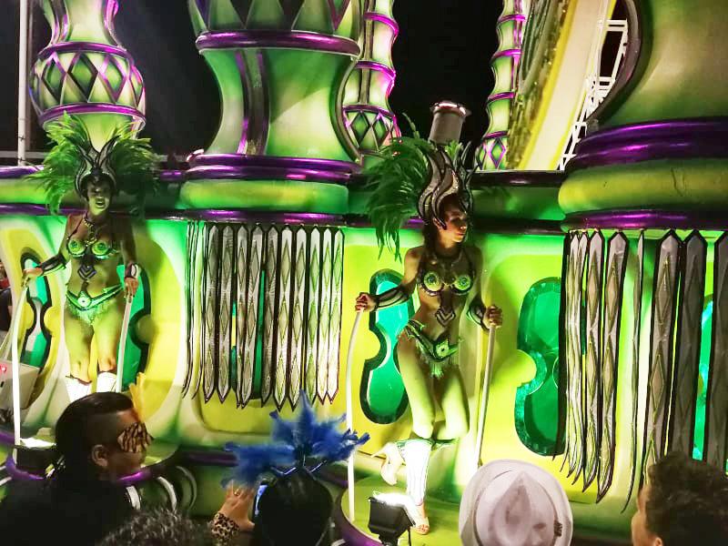 Samba tanečnice