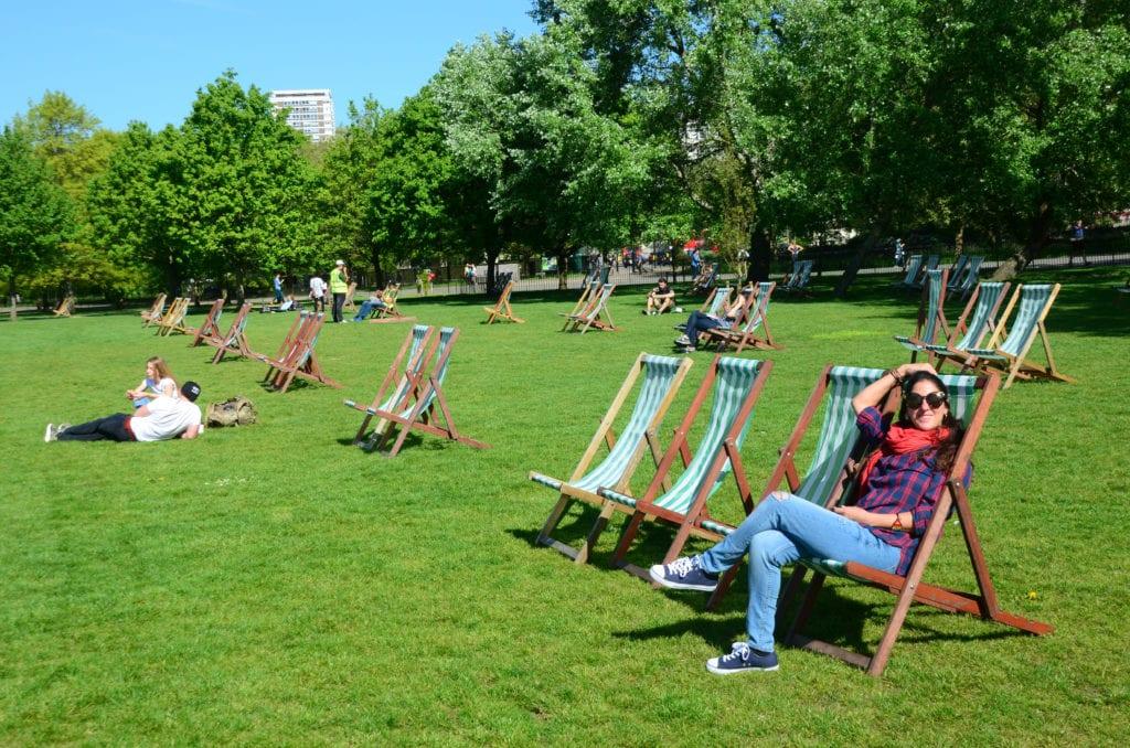 Hyde Park je londýnskou oázou klidu