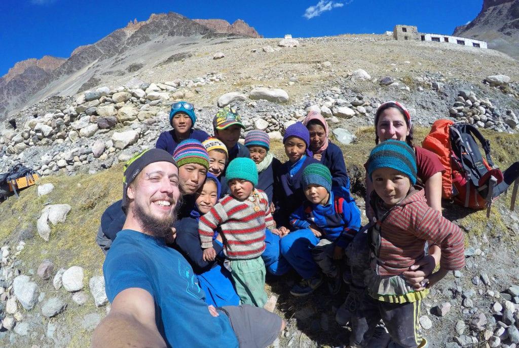 Cílem našeho projektu Himálajský úsměv bylo navštívit vesnické školy