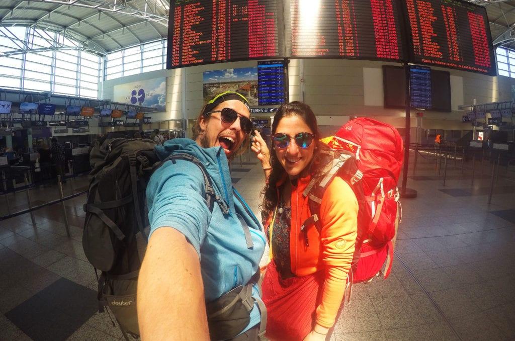 Odlet z Prahy do Nepálu