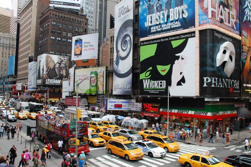 Ruch New Yorku je nevídaný