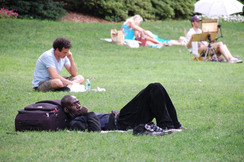 Central Park je newyorskou oázou klidu