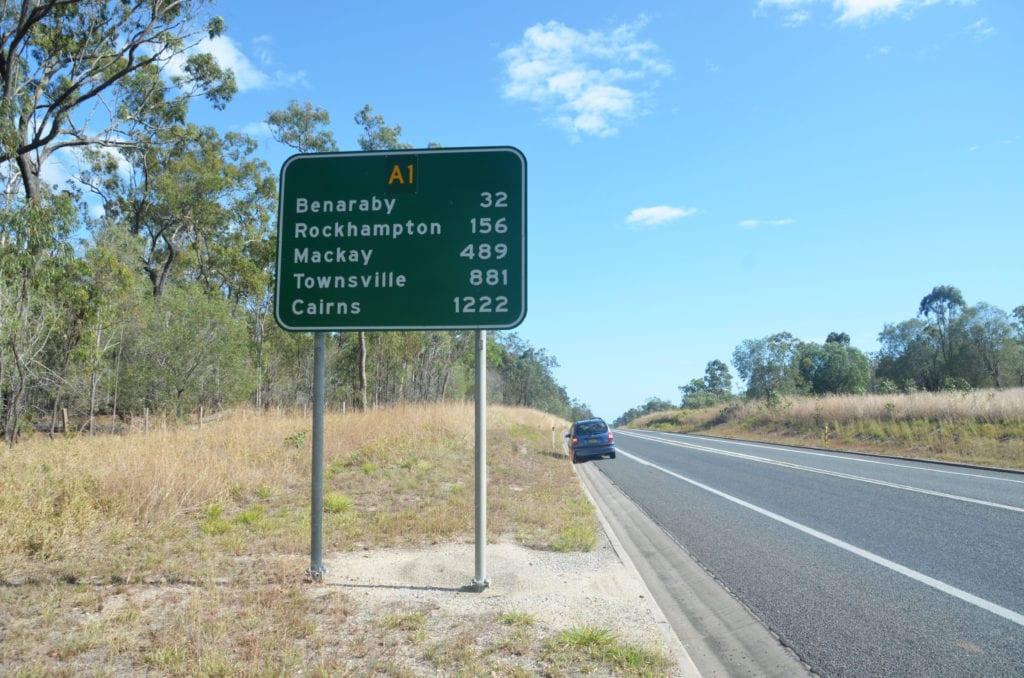 Vzdálenosti v Austrálii jsou nekonečné