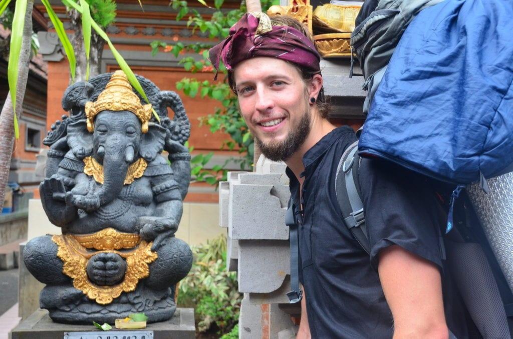 Přílet na barevné Bali