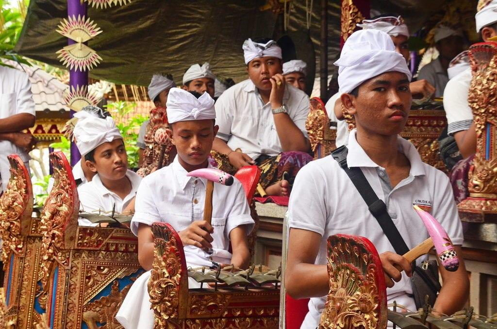 Na Bali se každý den něco slaví