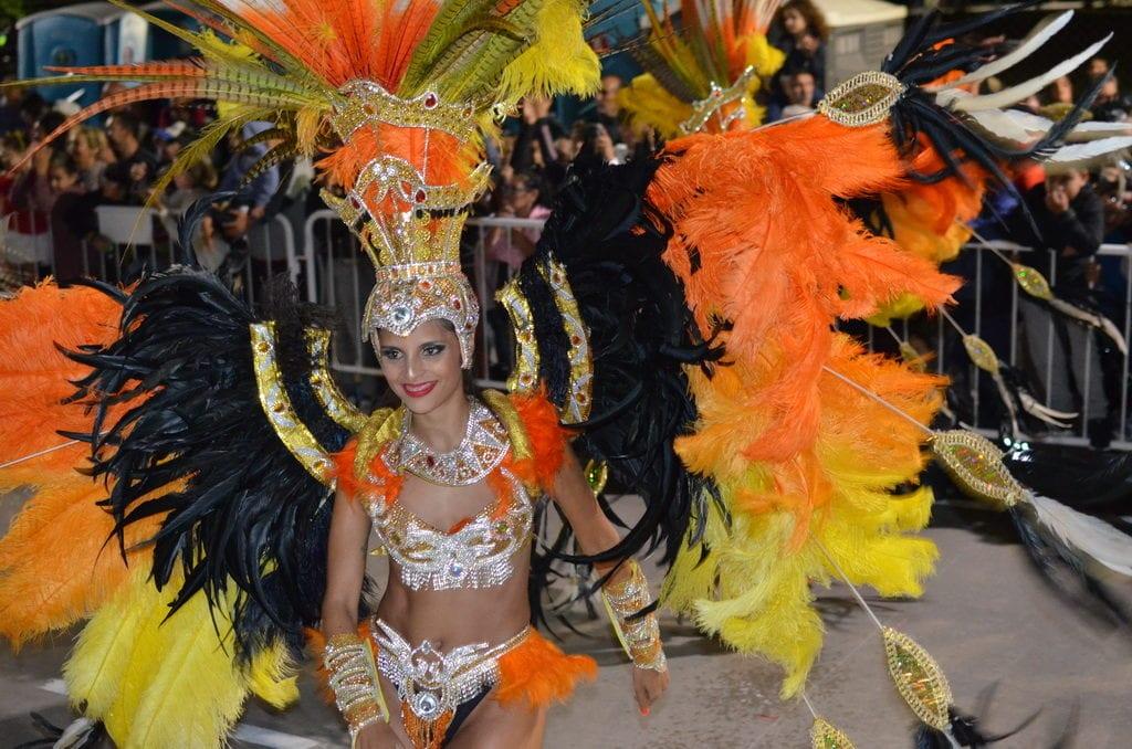Karnevalové tanečnice jsou opravdu nádherné