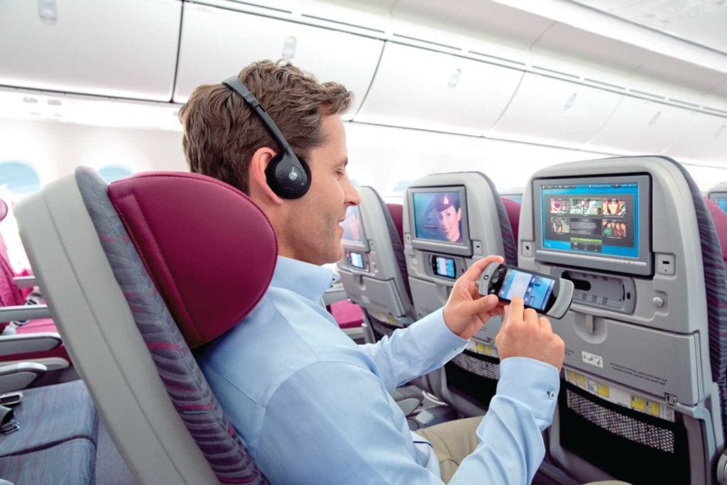 Ekonomická třída Qatar Airways