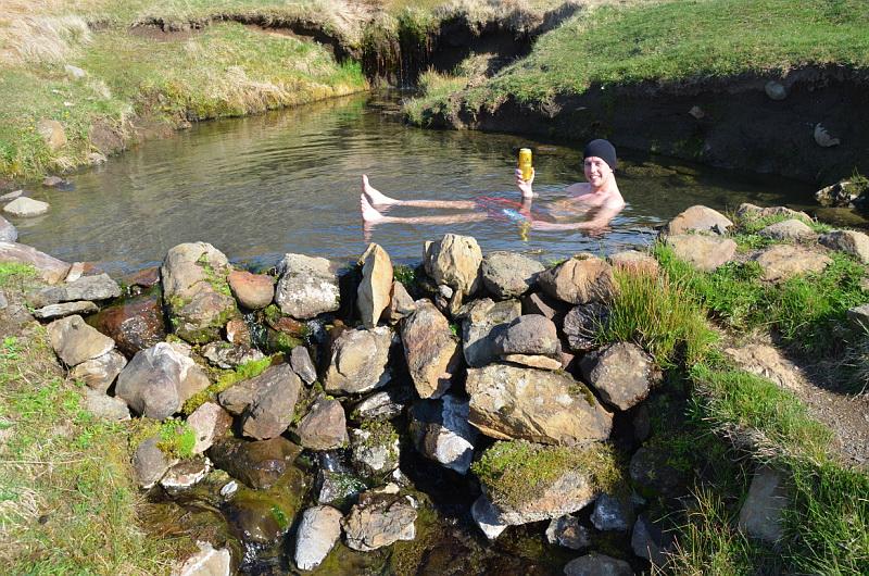Na Islandu je spousta přírodních termálních pramenů