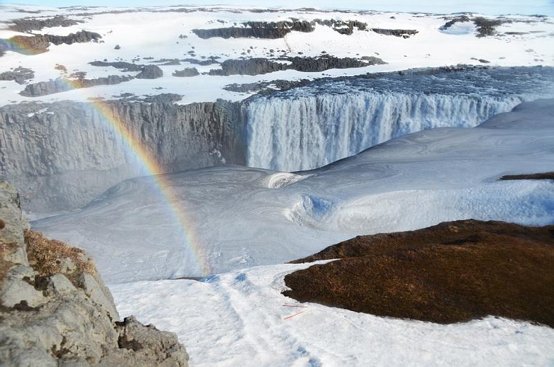 Dech beroucí islandské vodopády