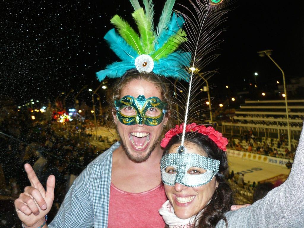 Báječná atmosféra argentinského karnevalu
