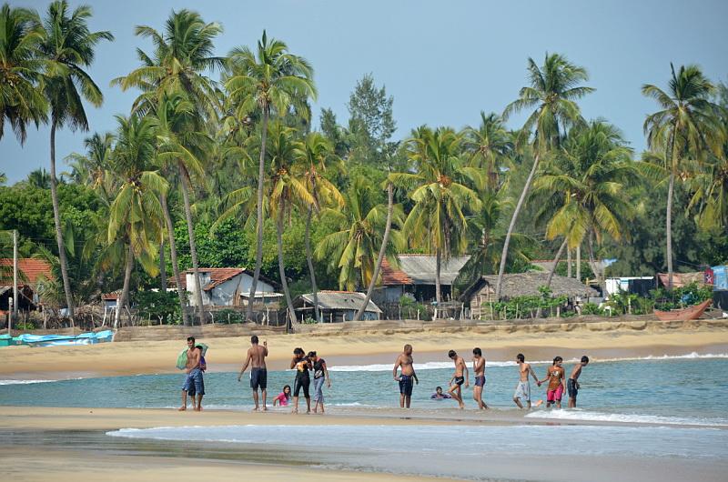 Klidná zátoka Arugam Bay