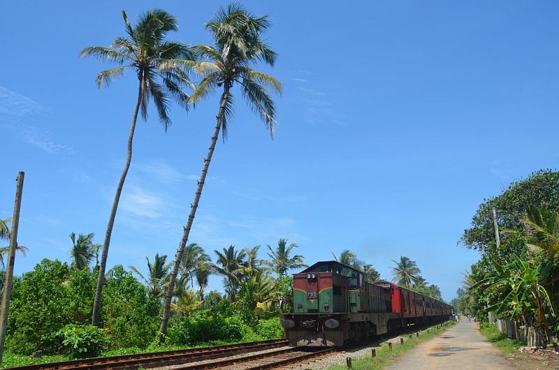 Srí Lanka vlak